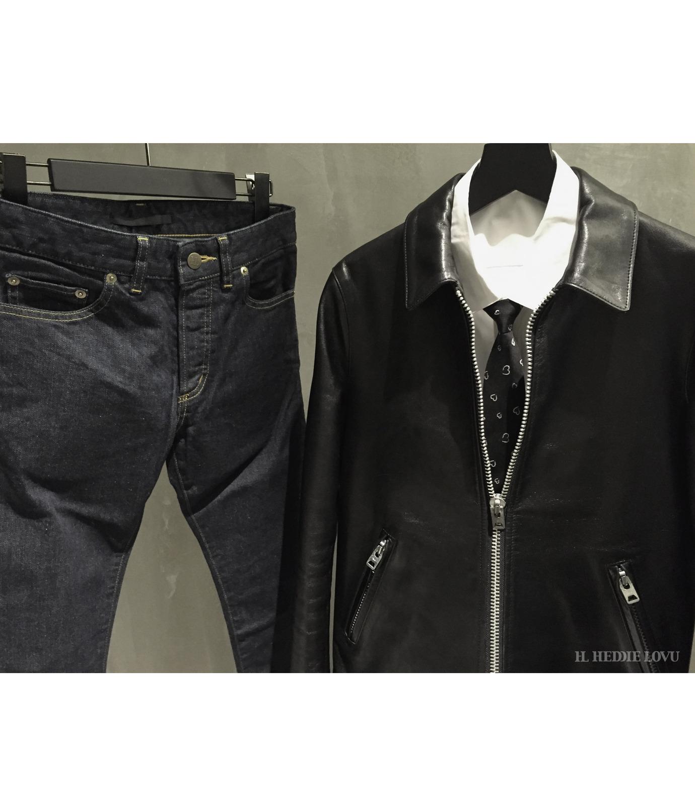 HL HEDDIE LOVU(エイチエル・エディールーヴ)のHL Riders S JK-BLACK(ジャケット/jacket)-17S94002-13 拡大詳細画像7