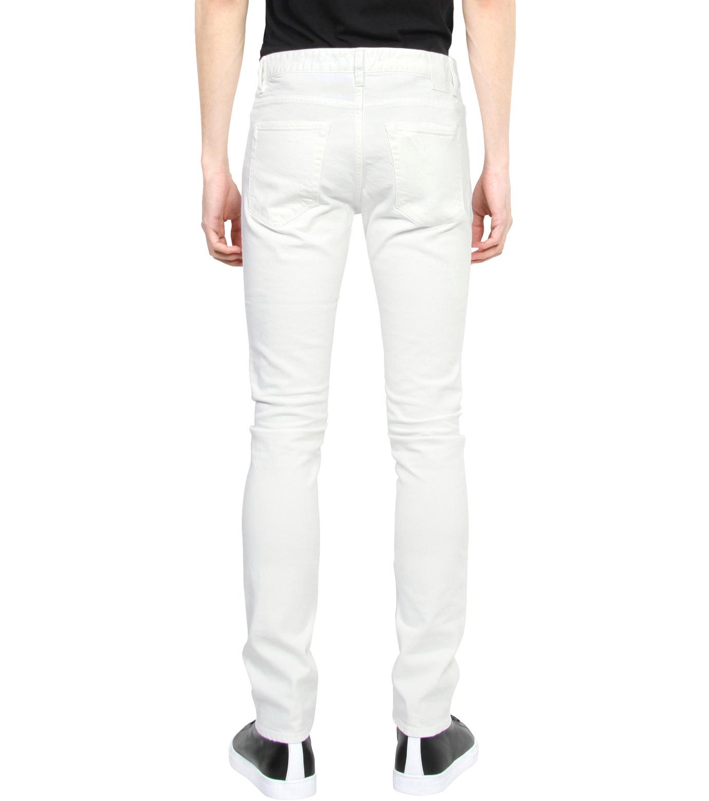 HL HEDDIE LOVU(エイチエル・エディールーヴ)のWhite Damage Denim-WHITE(パンツ/pants)-17S98002-4 拡大詳細画像2