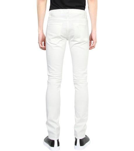 HL HEDDIE LOVU(エイチエル・エディールーヴ)のWhite Damage Denim-WHITE(パンツ/pants)-17S98002-4 詳細画像2