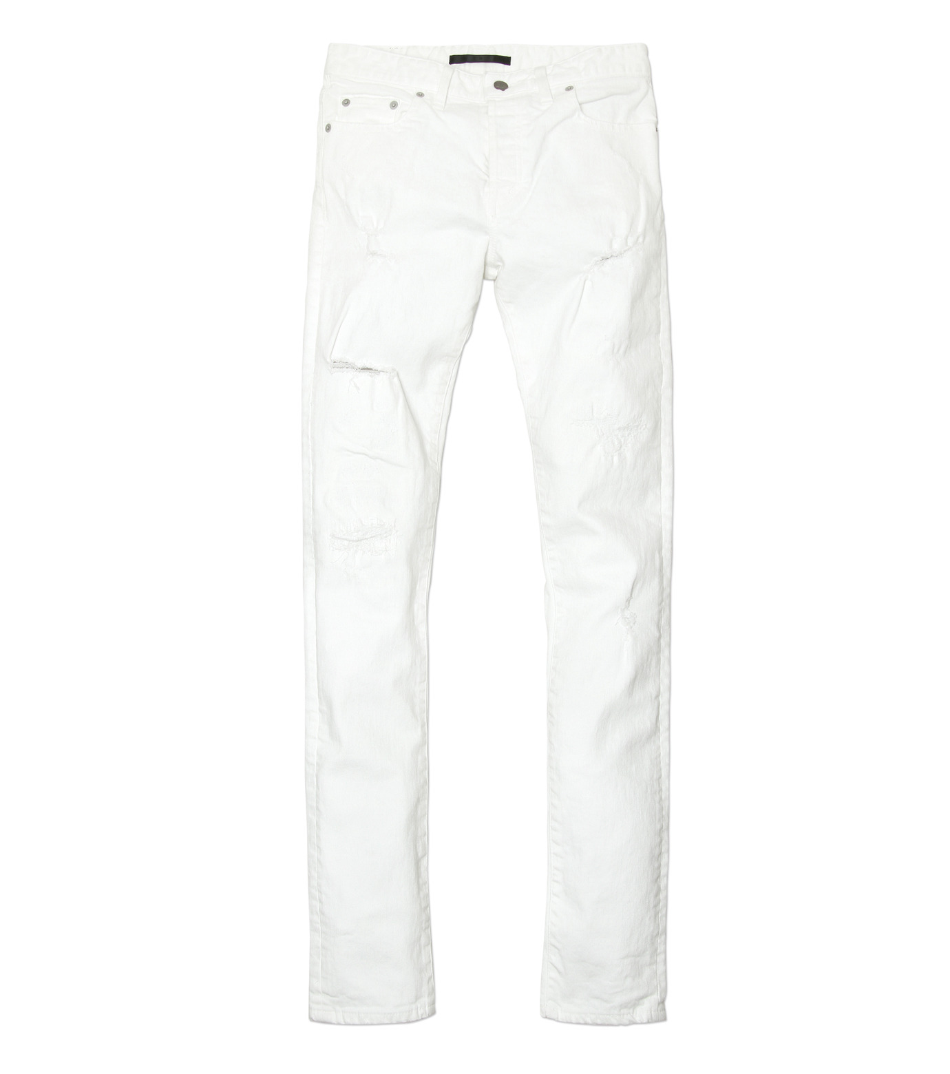 HL HEDDIE LOVU(エイチエル・エディールーヴ)のWhite Damage Denim-WHITE(パンツ/pants)-17S98002-4 拡大詳細画像5