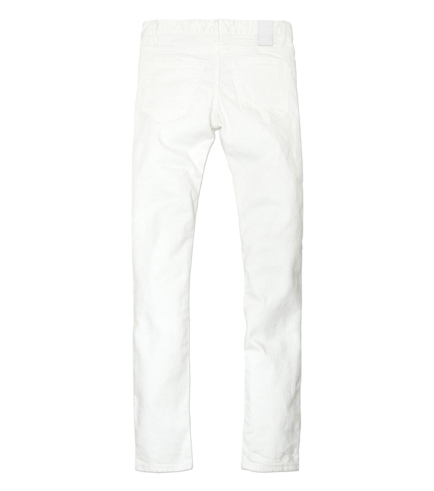 HL HEDDIE LOVU(エイチエル・エディールーヴ)のWhite Damage Denim-WHITE(パンツ/pants)-17S98002-4 拡大詳細画像6