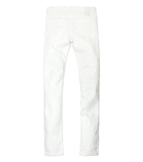 HL HEDDIE LOVU(エイチエル・エディールーヴ)のWhite Damage Denim-WHITE(パンツ/pants)-17S98002-4 詳細画像6