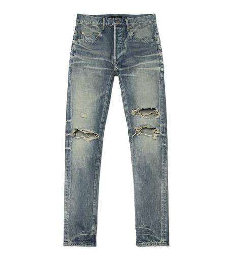HL HEDDIE LOVU(エイチエル・エディールーヴ)のDamage Denim PT-BLUE(パンツ/pants)-17S98003-92 詳細画像4