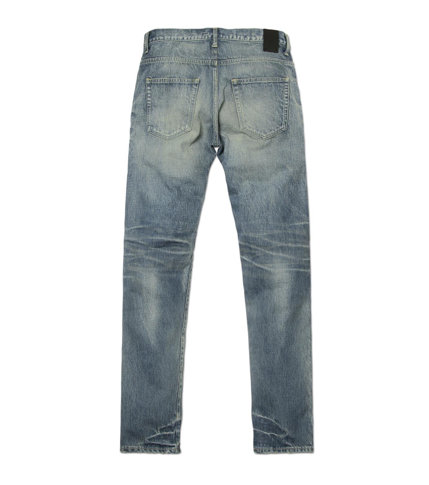 HL HEDDIE LOVU(エイチエル・エディールーヴ)のDamage Denim PT-BLUE(パンツ/pants)-17S98003-92 拡大詳細画像5
