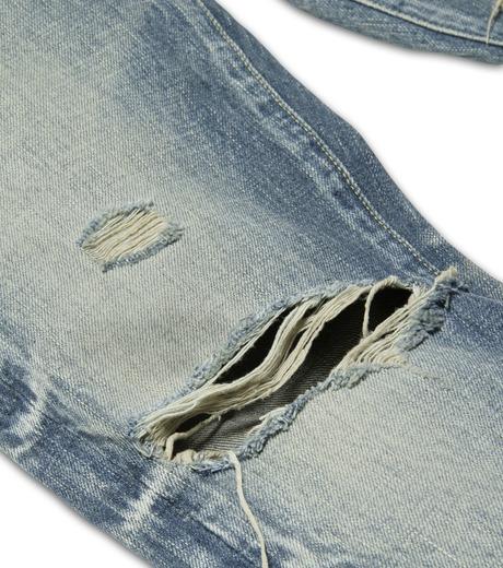 HL HEDDIE LOVU(エイチエル・エディールーヴ)のDamage Denim PT-BLUE(パンツ/pants)-17S98003-92 詳細画像7