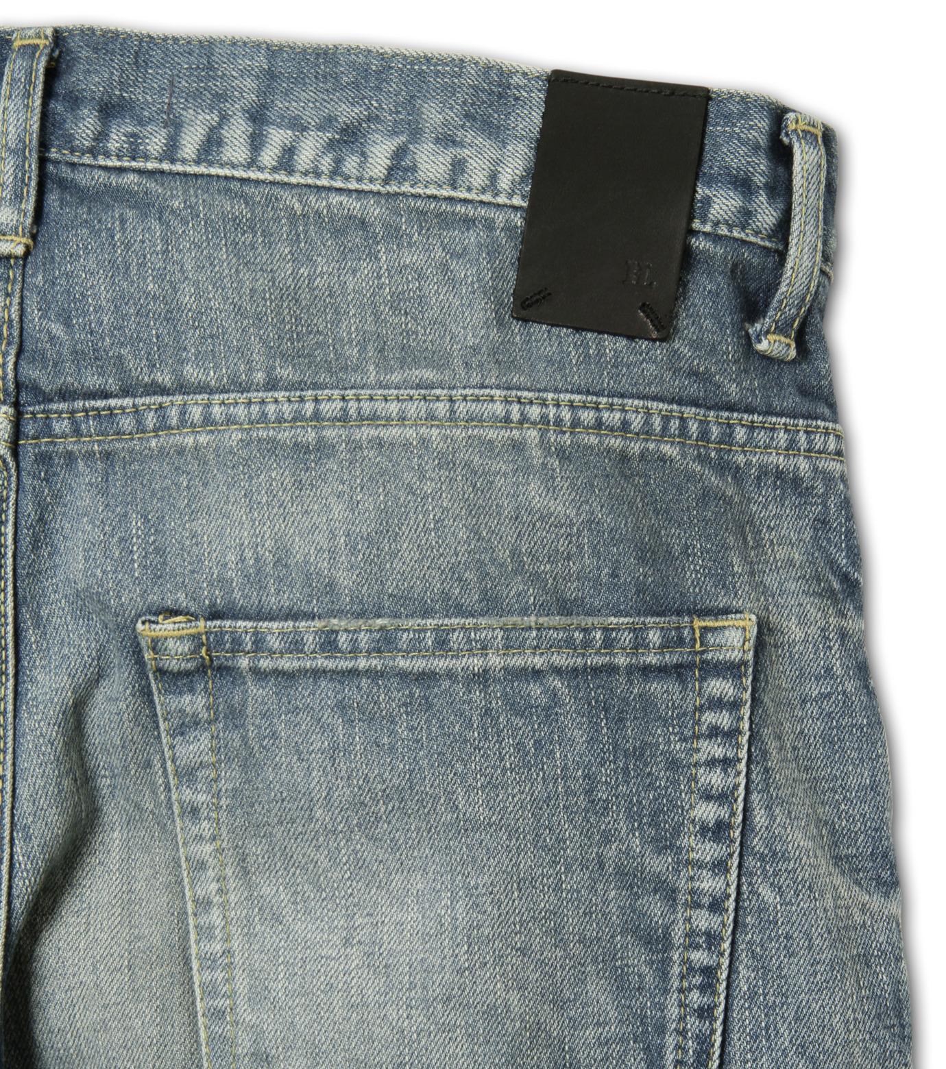 HL HEDDIE LOVU(エイチエル・エディールーヴ)のDamage Denim PT-BLUE(パンツ/pants)-17S98003-92 拡大詳細画像8