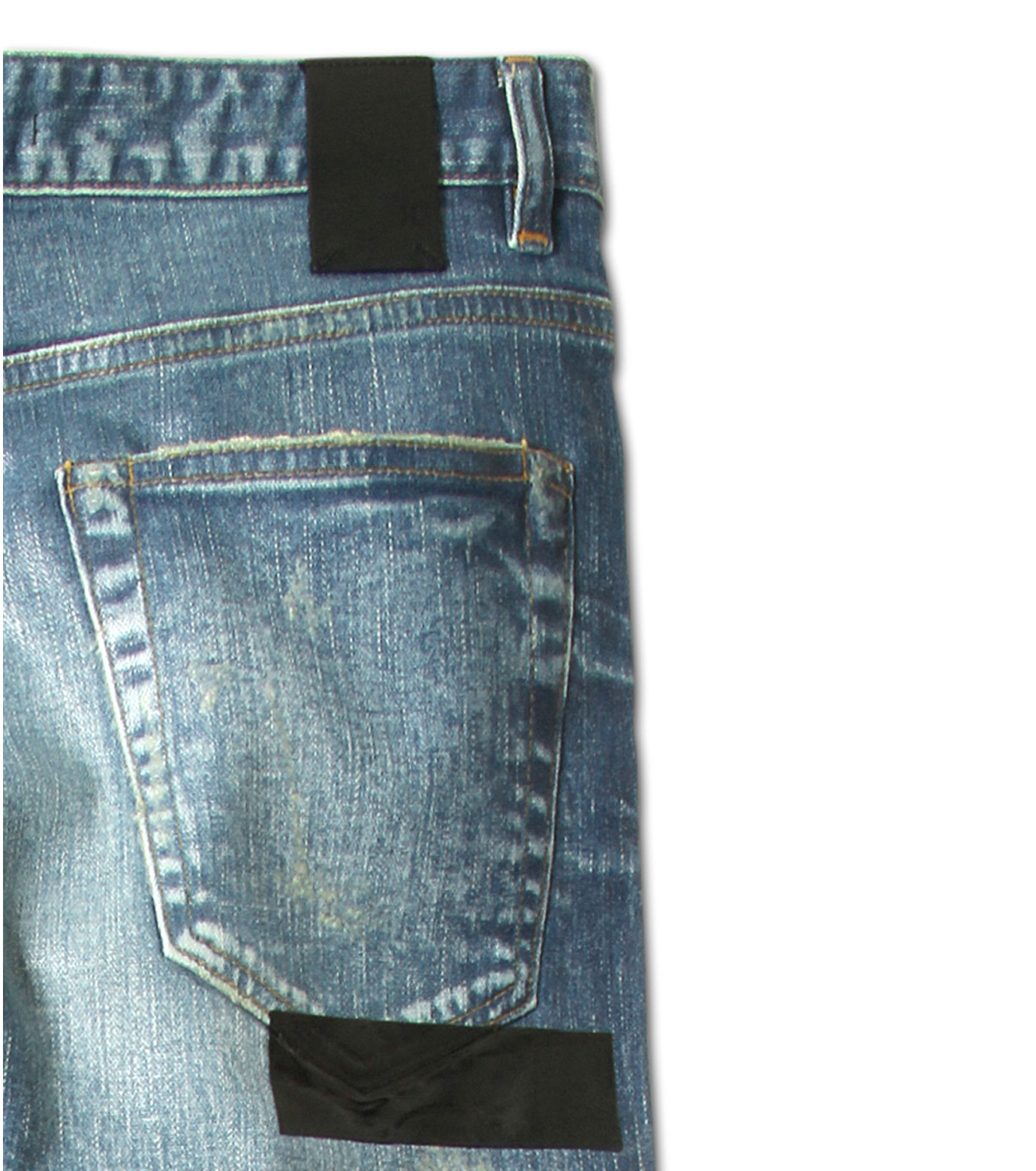 HL HEDDIE LOVU(エイチエル・エディールーヴ)のIndigo Coat Skin Slim-NAVY(パンツ/pants)-17S98005-93 拡大詳細画像9