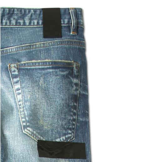 HL HEDDIE LOVU(エイチエル・エディールーヴ)のIndigo Coat Skin Slim-NAVY(パンツ/pants)-17S98005-93 詳細画像9