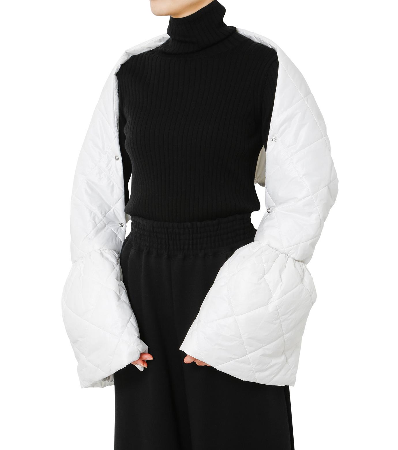 LE CIEL BLEU(ルシェルブルー)のキルティングマフラー-WHITE(アクセサリー/accessory)-18A60604 拡大詳細画像1
