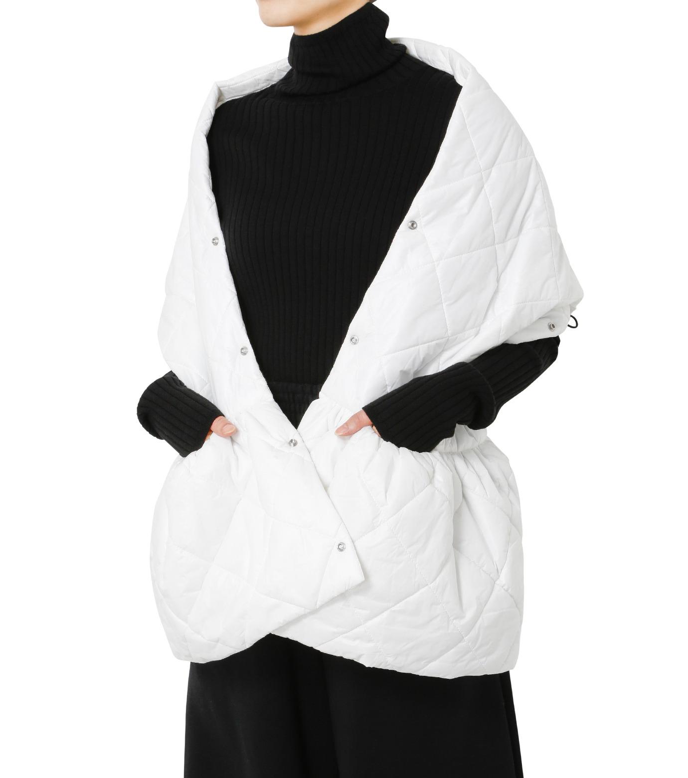 LE CIEL BLEU(ルシェルブルー)のキルティングマフラー-WHITE(アクセサリー/accessory)-18A60604 拡大詳細画像2