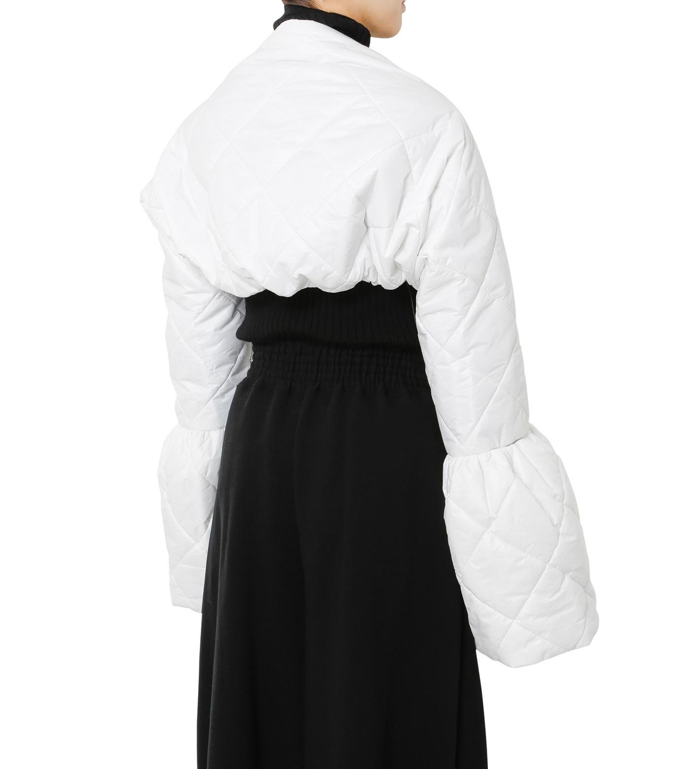 LE CIEL BLEU(ルシェルブルー)のキルティングマフラー-WHITE(アクセサリー/accessory)-18A60604 拡大詳細画像3