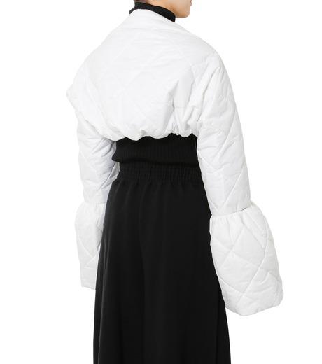 LE CIEL BLEU(ルシェルブルー)のキルティングマフラー-WHITE(アクセサリー/accessory)-18A60604 詳細画像3