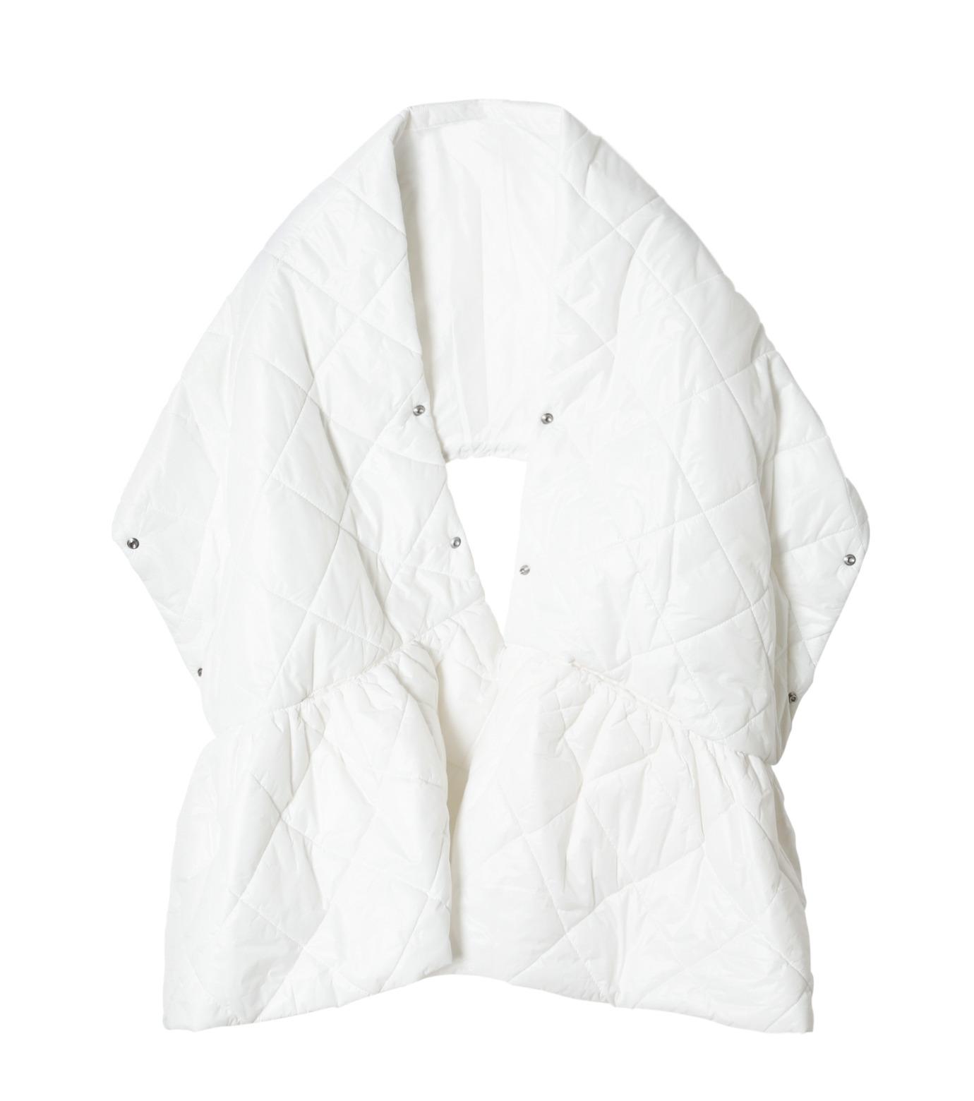 LE CIEL BLEU(ルシェルブルー)のキルティングマフラー-WHITE(アクセサリー/accessory)-18A60604 拡大詳細画像5
