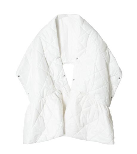LE CIEL BLEU(ルシェルブルー)のキルティングマフラー-WHITE(アクセサリー/accessory)-18A60604 詳細画像5