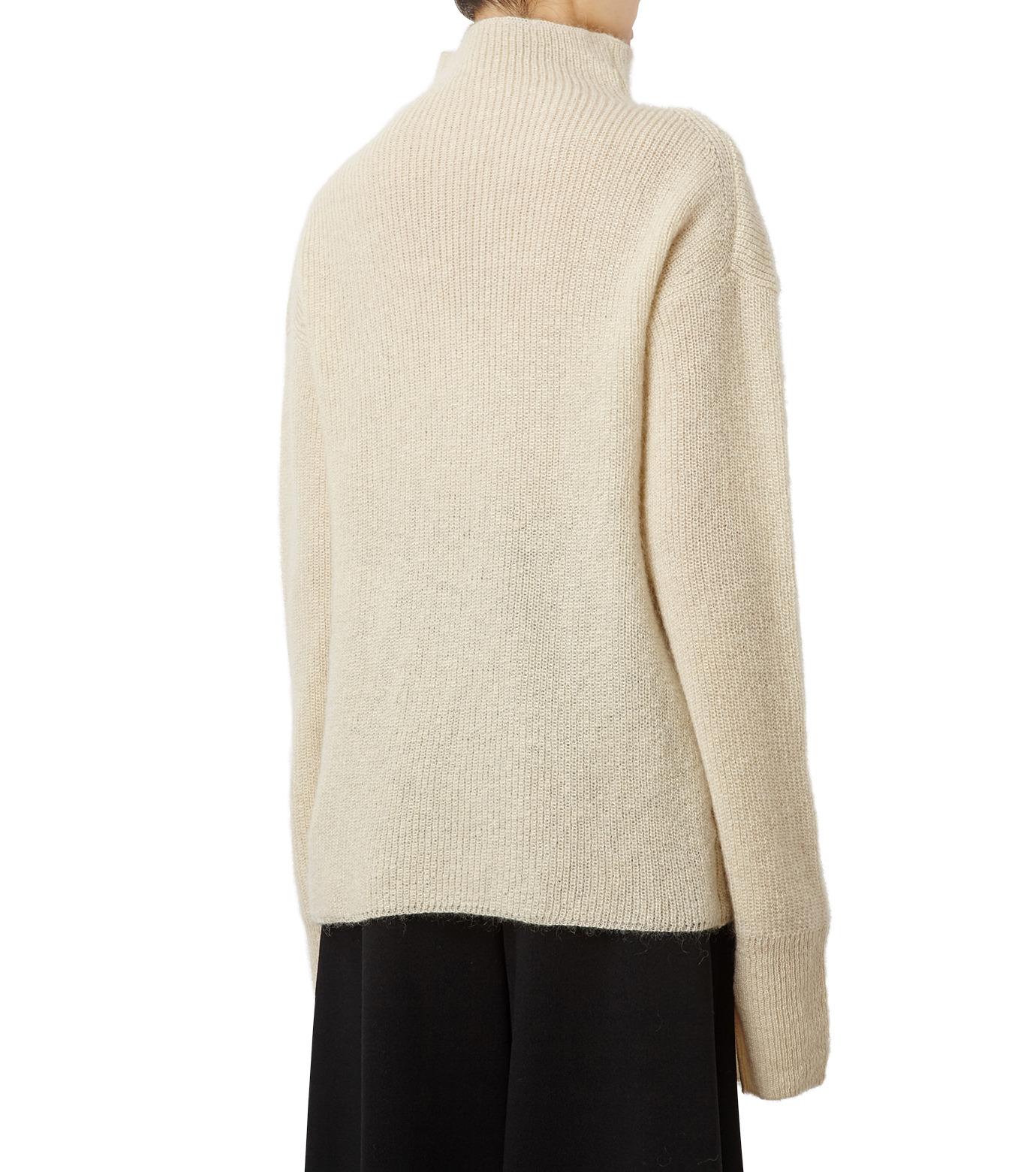 LE CIEL BLEU(ルシェルブルー)のシルクモヘヤニットトップス-WHITE(ニット/knit)-18A61528 拡大詳細画像2
