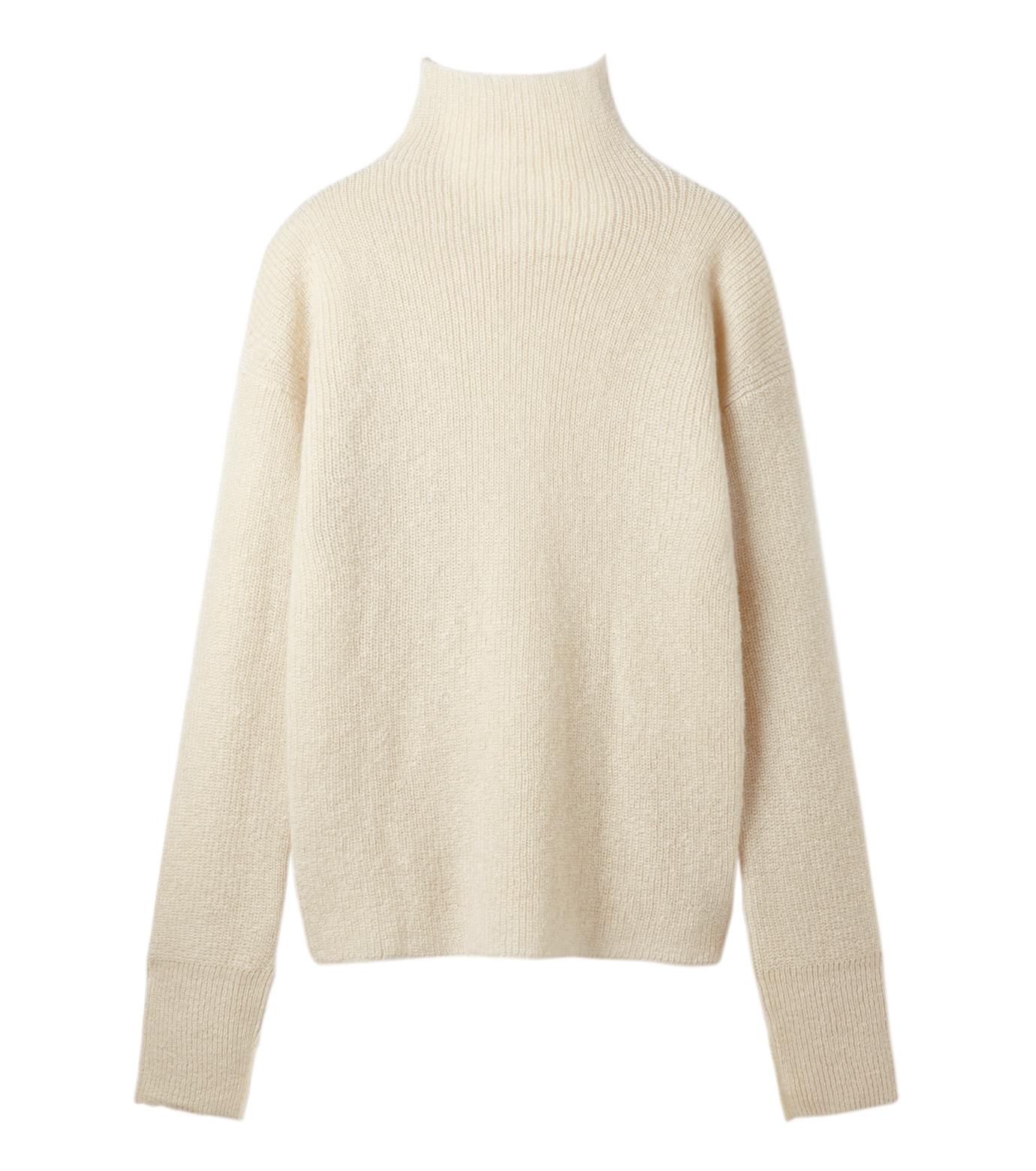 LE CIEL BLEU(ルシェルブルー)のシルクモヘヤニットトップス-WHITE(ニット/knit)-18A61528 拡大詳細画像5