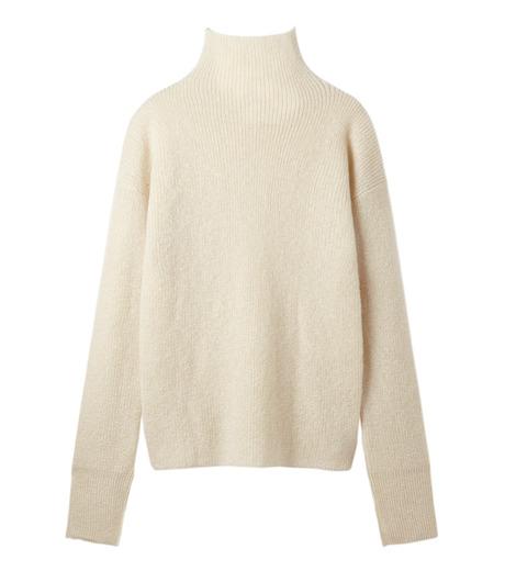 LE CIEL BLEU(ルシェルブルー)のシルクモヘヤニットトップス-WHITE(ニット/knit)-18A61528 詳細画像5