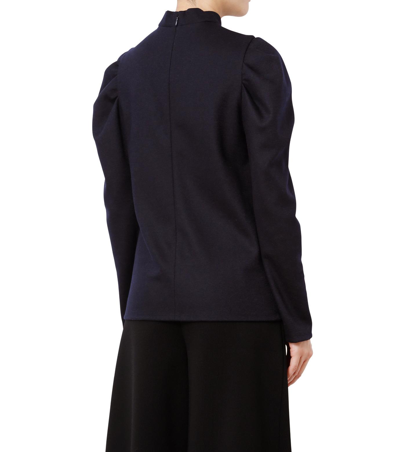 LE CIEL BLEU(ルシェルブルー)のパフカットトップス-NAVY(カットソー/cut and sewn)-18A62514 拡大詳細画像2