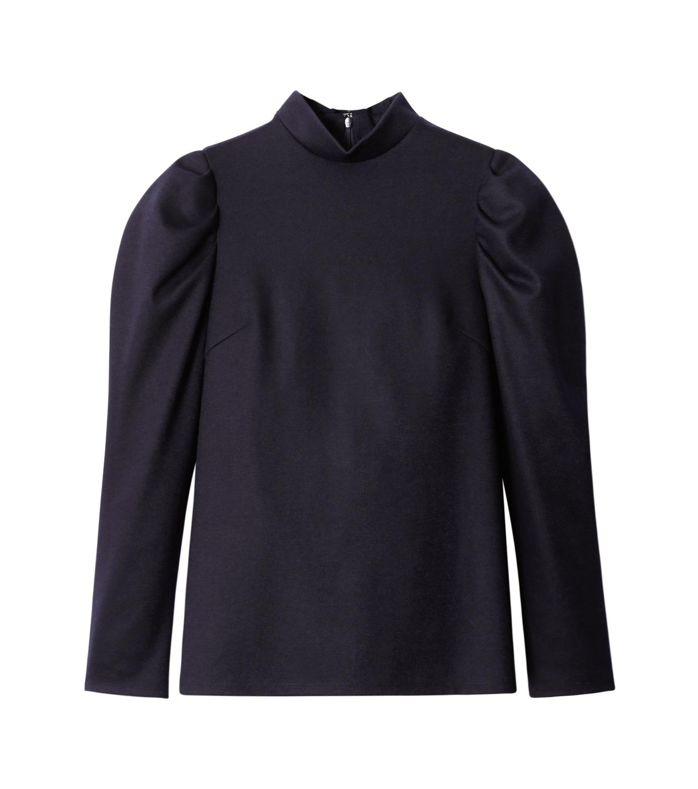 LE CIEL BLEU(ルシェルブルー)のパフカットトップス-NAVY(カットソー/cut and sewn)-18A62514 拡大詳細画像4