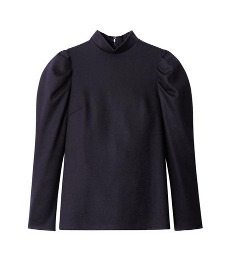 LE CIEL BLEU(ルシェルブルー)のパフカットトップス-NAVY(カットソー/cut and sewn)-18A62514 詳細画像4