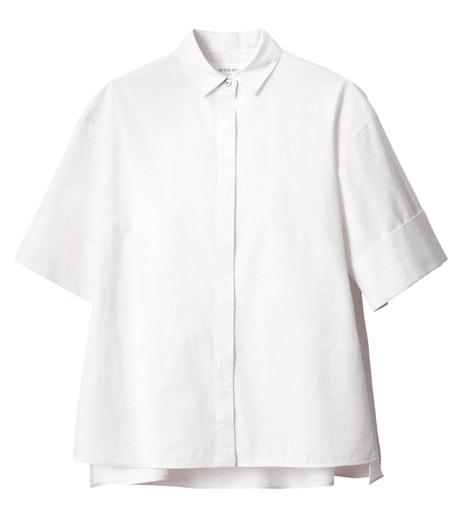 LE CIEL BLEU(ルシェルブルー)のAラインボードシャツ-WHITE(シャツ/shirt)-18A63004 詳細画像5