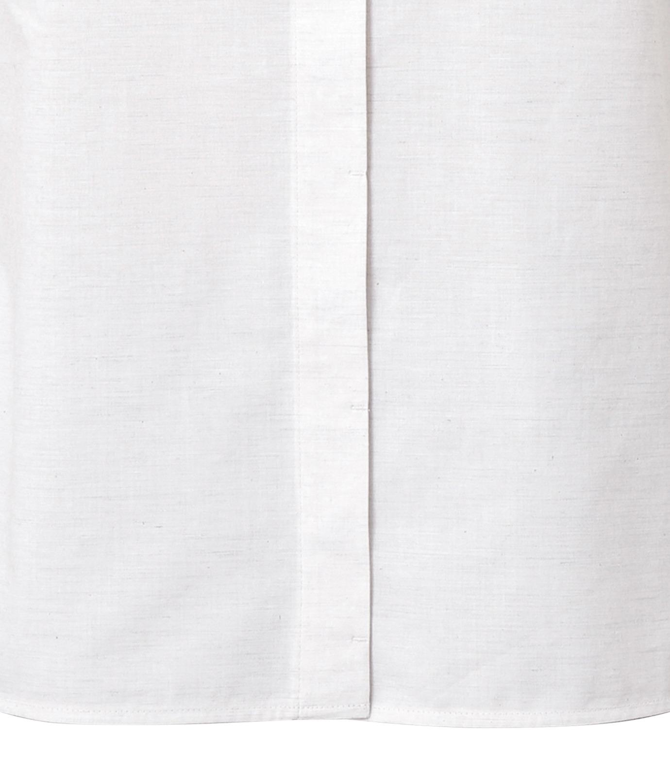 LE CIEL BLEU(ルシェルブルー)のAラインボードシャツ-WHITE(シャツ/shirt)-18A63004 拡大詳細画像6