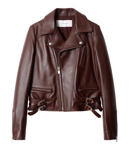 LE CIEL BLEU(ルシェルブルー)のラムレザーライダース-BORDEAUX(ジャケット/jacket)-18A64002 詳細画像4