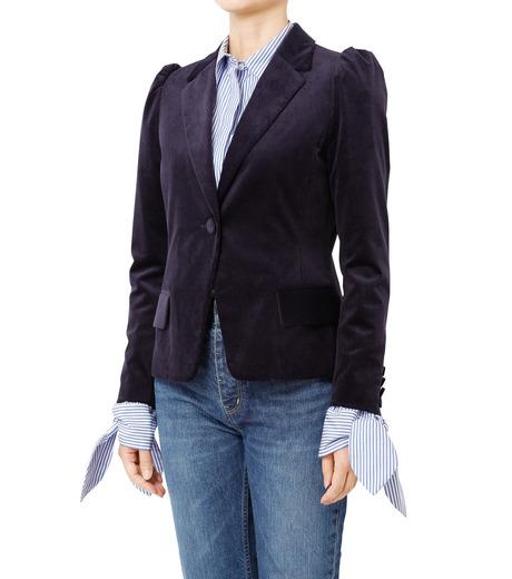 LE CIEL BLEU(ルシェルブルー)のコーディロイパフジャケット-NAVY(ジャケット/jacket)-18A64305 詳細画像1