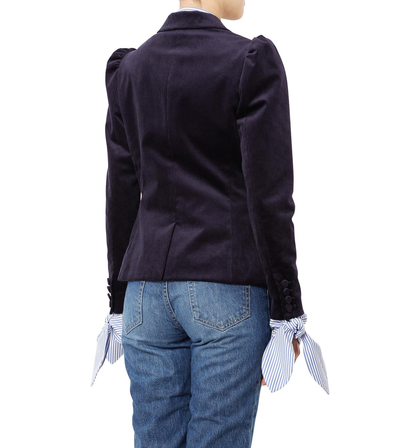 LE CIEL BLEU(ルシェルブルー)のコーディロイパフジャケット-NAVY(ジャケット/jacket)-18A64305 拡大詳細画像2