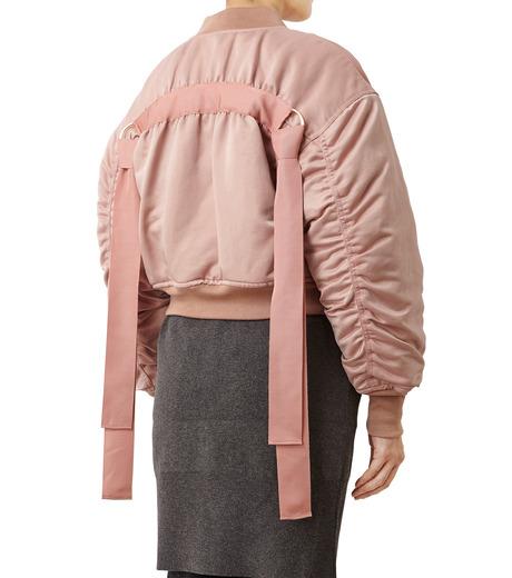 LE CIEL BLEU(ルシェルブルー)のリボンシェイクスMA-1-PINK(ジャケット/jacket)-18A64509 詳細画像2