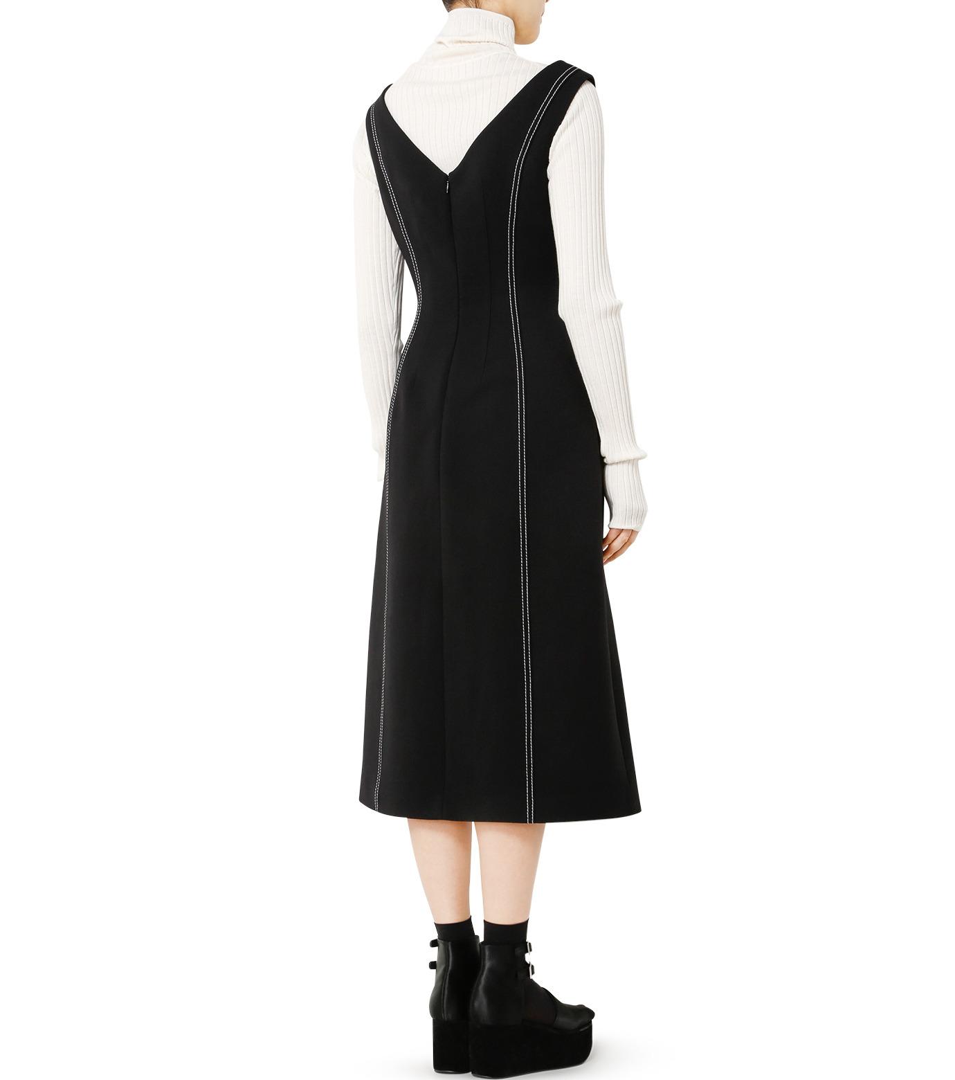 LE CIEL BLEU(ルシェルブルー)のラインドレス-BLACK(ワンピース/one piece)-18A65618 拡大詳細画像2