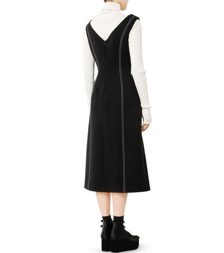 LE CIEL BLEU(ルシェルブルー)のラインドレス-BLACK(ワンピース/one piece)-18A65618 詳細画像2