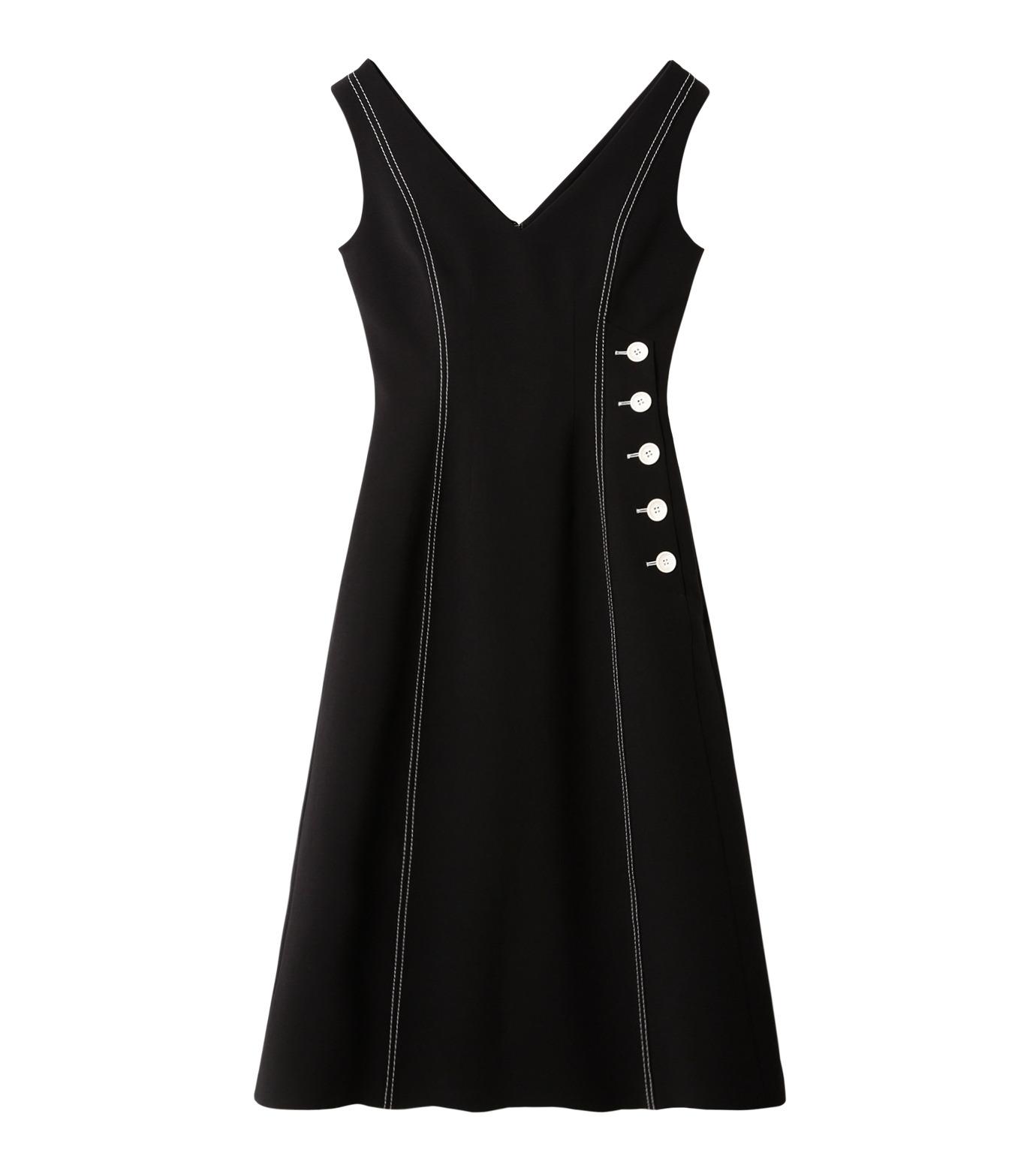 LE CIEL BLEU(ルシェルブルー)のラインドレス-BLACK(ワンピース/one piece)-18A65618 拡大詳細画像4