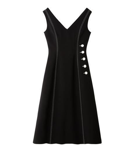 LE CIEL BLEU(ルシェルブルー)のラインドレス-BLACK(ワンピース/one piece)-18A65618 詳細画像4