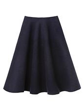 LE CIEL BLEU Wメルトンテントスカート