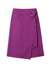 LE CIEL BLEU ジョーゼットラップスカート