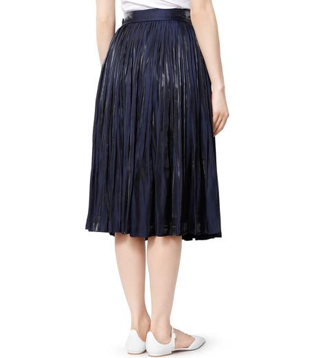 LE CIEL BLEU(ルシェルブルー)のプリーツスカート-NAVY(スカート/skirt)-18A67206 詳細画像2
