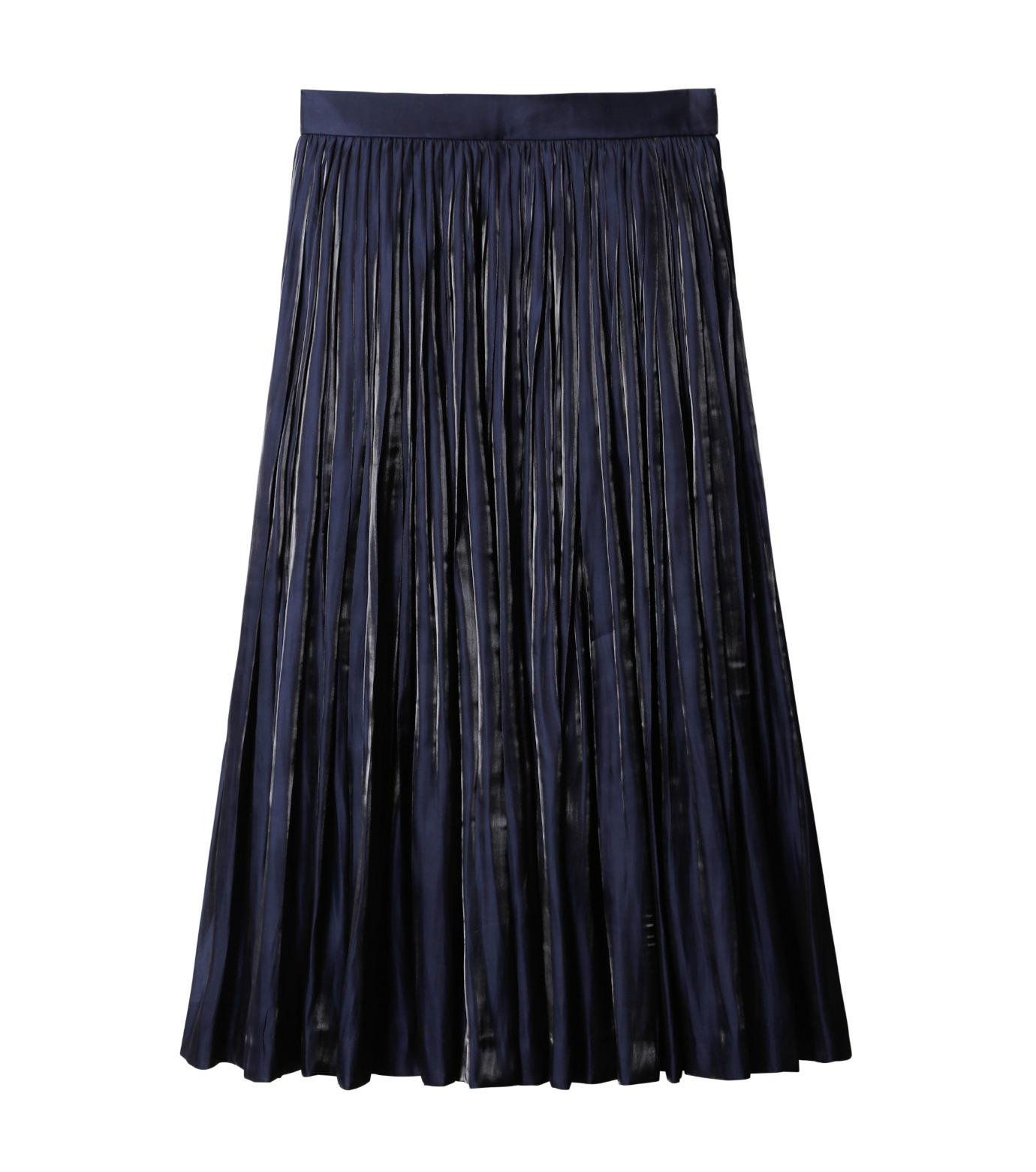 LE CIEL BLEU(ルシェルブルー)のプリーツスカート-NAVY(スカート/skirt)-18A67206 拡大詳細画像4