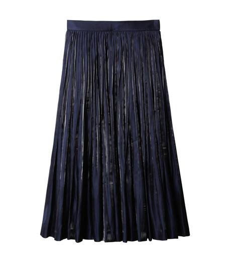 LE CIEL BLEU(ルシェルブルー)のプリーツスカート-NAVY(スカート/skirt)-18A67206 詳細画像4
