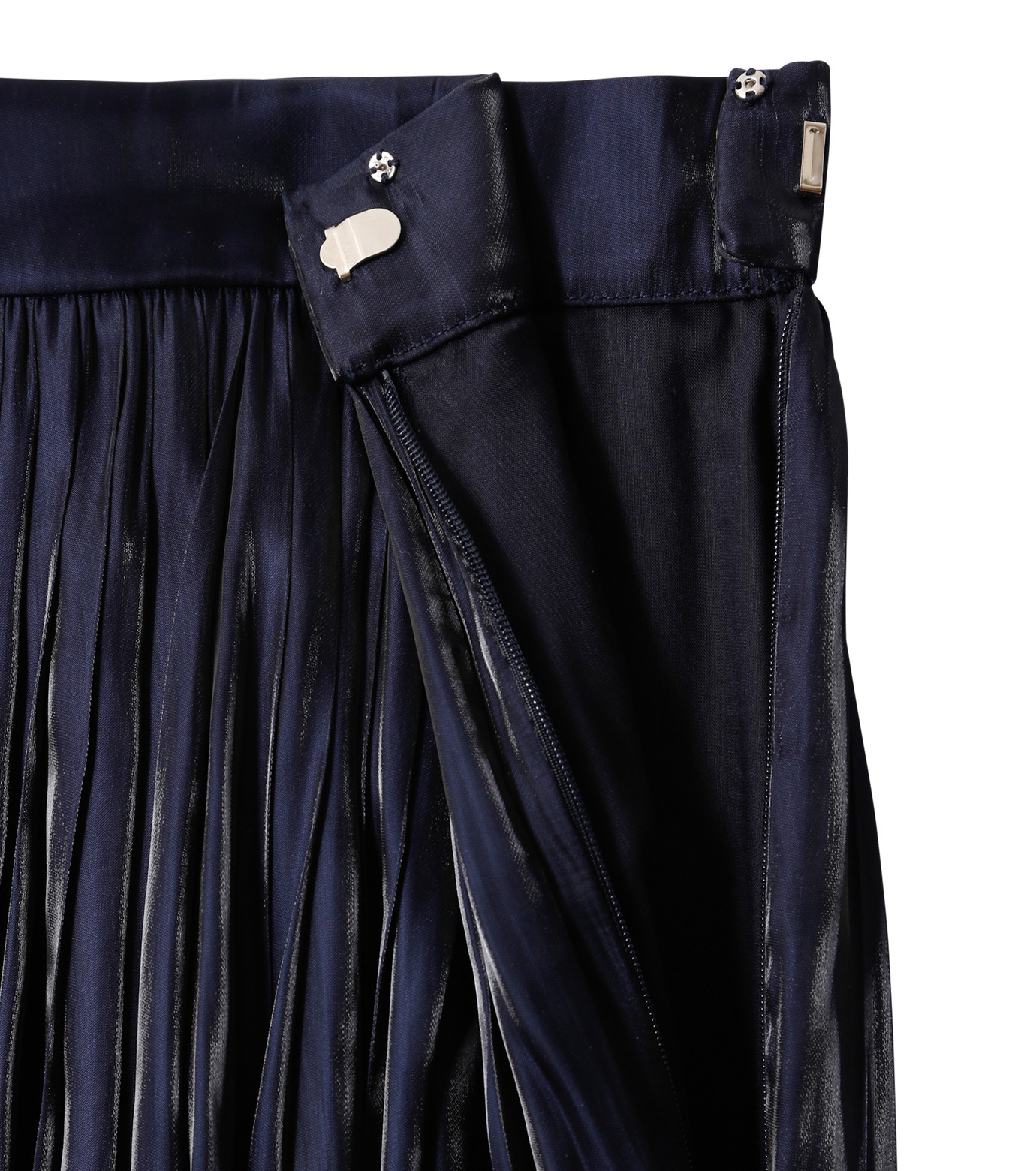 LE CIEL BLEU(ルシェルブルー)のプリーツスカート-NAVY(スカート/skirt)-18A67206 拡大詳細画像5