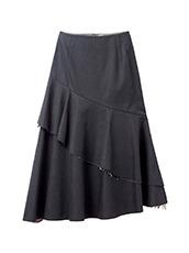 LE CIEL BLEU ぺプラムフレアスカート