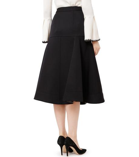 LE CIEL BLEU(ルシェルブルー)のWクローズフレアスカート-BLACK(スカート/skirt)-18A67310 詳細画像2