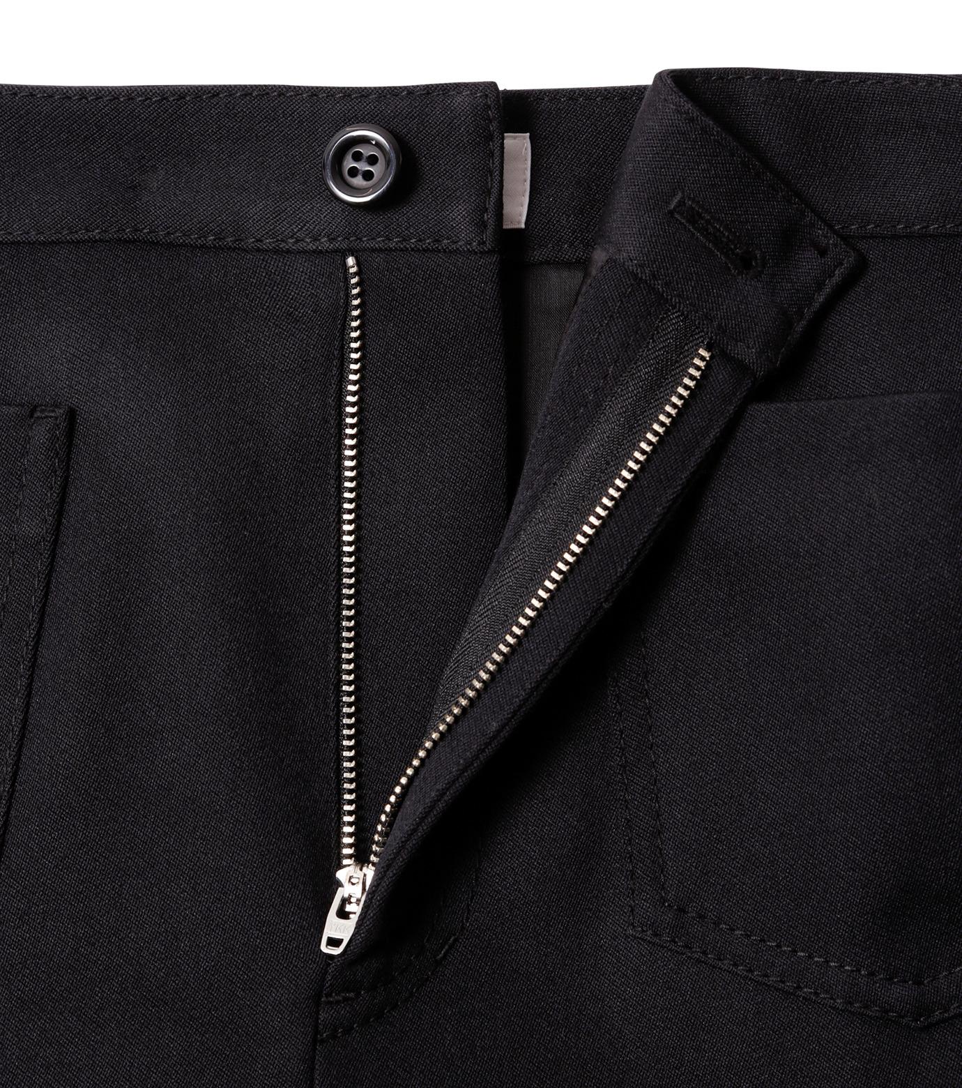 LE CIEL BLEU(ルシェルブルー)のWクローズフレアスカート-BLACK(スカート/skirt)-18A67310 拡大詳細画像5