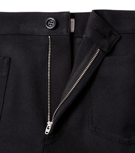 LE CIEL BLEU(ルシェルブルー)のWクローズフレアスカート-BLACK(スカート/skirt)-18A67310 詳細画像5