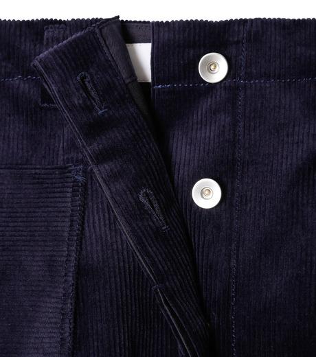 LE CIEL BLEU(ルシェルブルー)のコーデュロイロングスカート-NAVY(スカート/skirt)-18A67311 詳細画像5