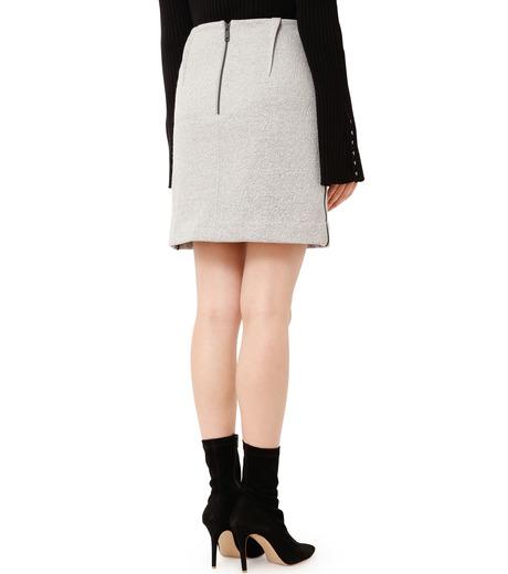 LE CIEL BLEU(ルシェルブルー)のウールフリースパイルミディスカート-GRAY(スカート/skirt)-18A67312 詳細画像2