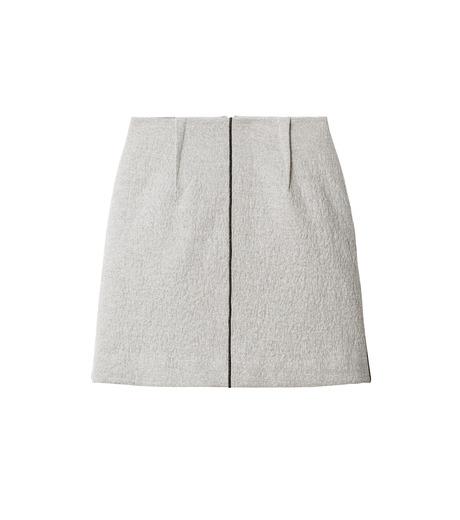 LE CIEL BLEU(ルシェルブルー)のウールフリースパイルミディスカート-GRAY(スカート/skirt)-18A67312 詳細画像4