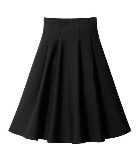LE CIEL BLEU(ルシェルブルー)のタックニットスカート-BLACK(スカート/skirt)-18A67418 詳細画像5