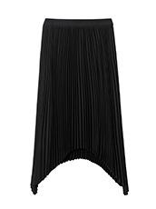 LE CIEL BLEU ハンカチーフヘムプリーツスカート