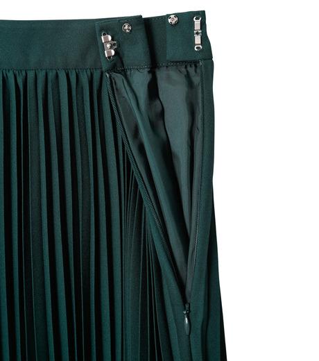 LE CIEL BLEU(ルシェルブルー)のハンカチーフヘムプリーツスカート-GREEN(スカート/skirt)-18A67423 詳細画像5